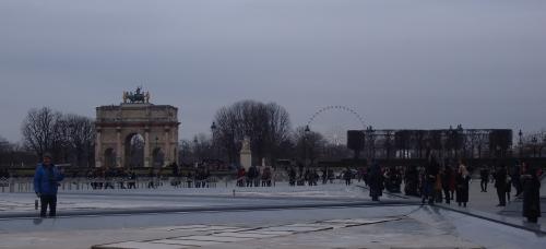 voyage, paris, hiver
