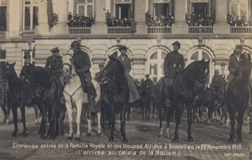 nov 1918 Bruxelles